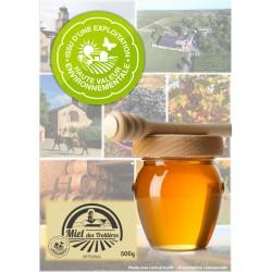 Miel des Trottières - Le Pot de 500 grammes